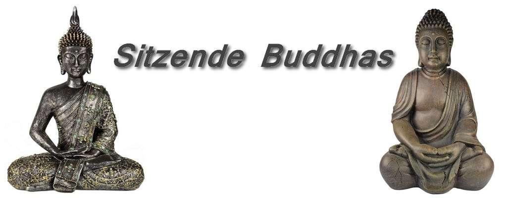 sitzende Buddhas