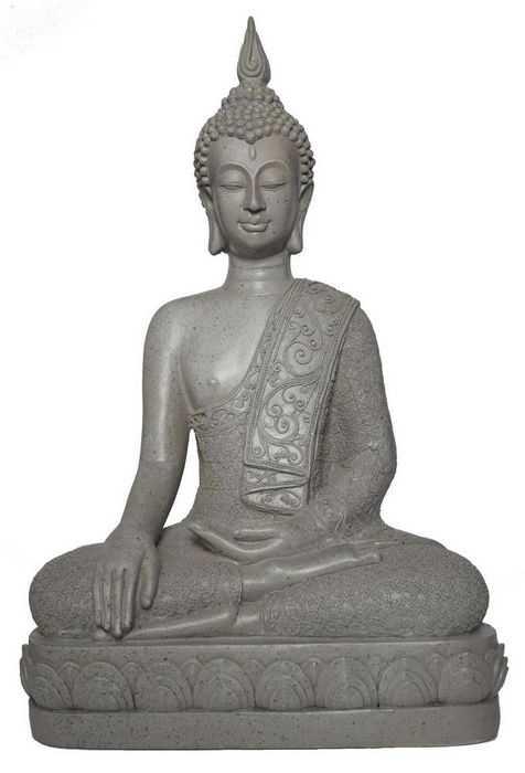 grau-buddha-sitzend-14005-1